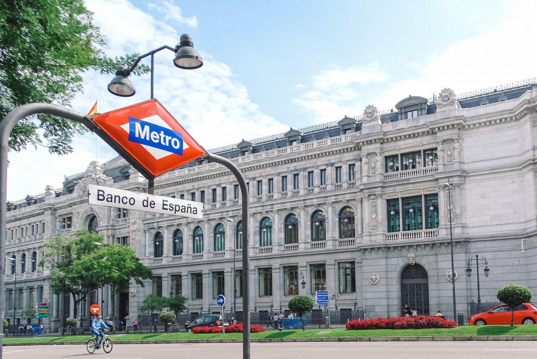Banco de España in Madrid