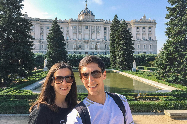 Koninklijk Paleis in Madrid