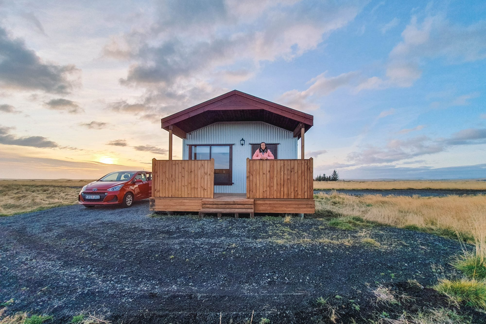 Hekla cabin IJsland