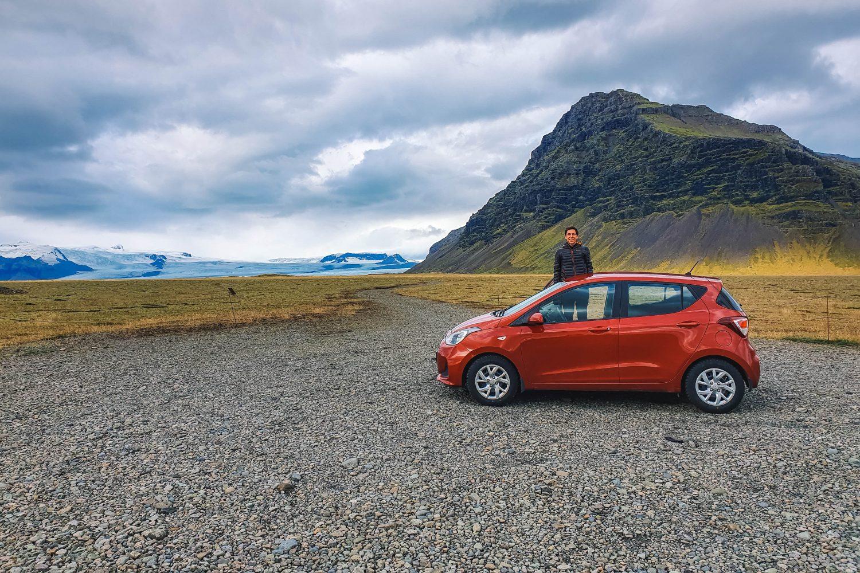 Huurauto in IJsland
