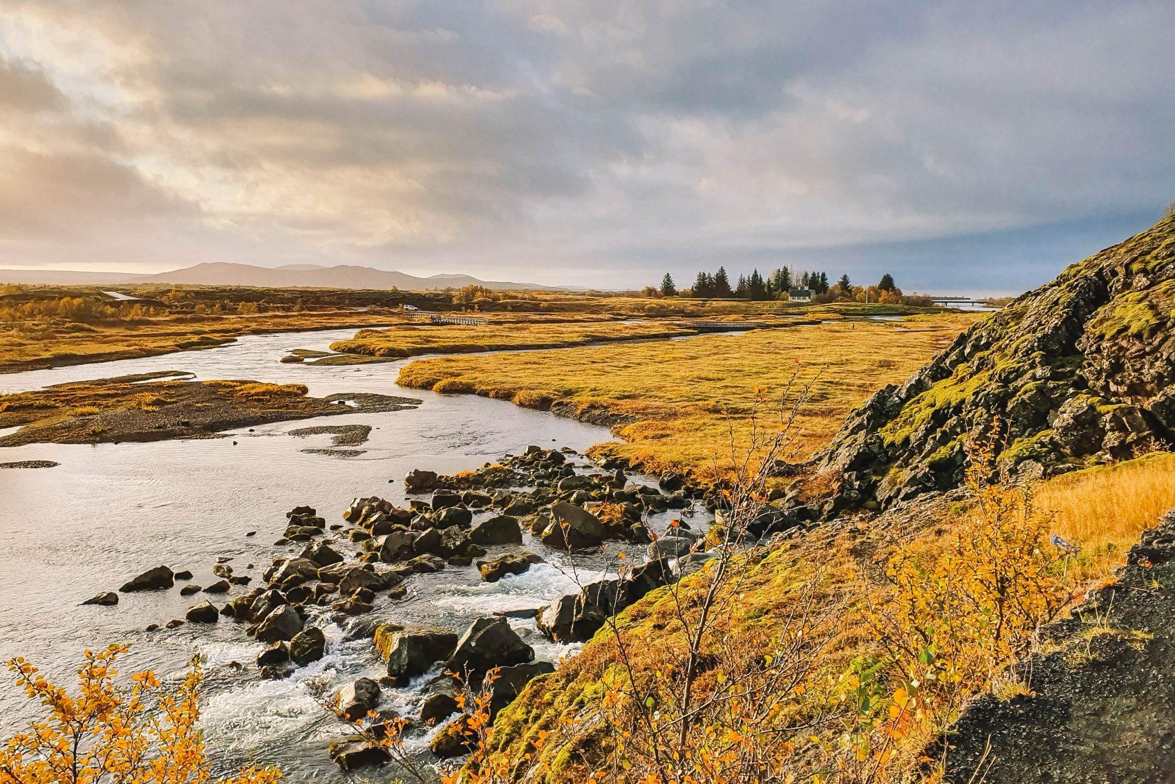 thingvellir national park golden circle ijsland