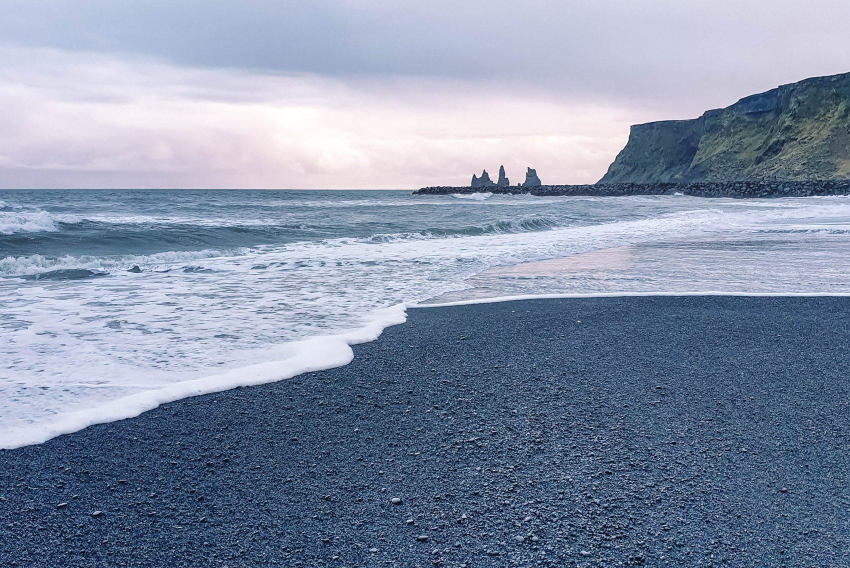 Vik Black Beach Zuid-IJsland