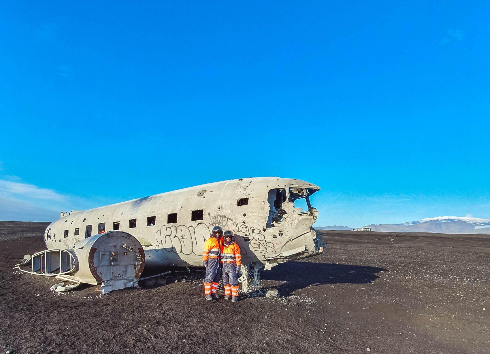 DC3 plane wreck Zuid-IJsland